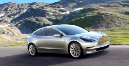 tesla model 3 la voiture lectrique haut de gamme. Black Bedroom Furniture Sets. Home Design Ideas